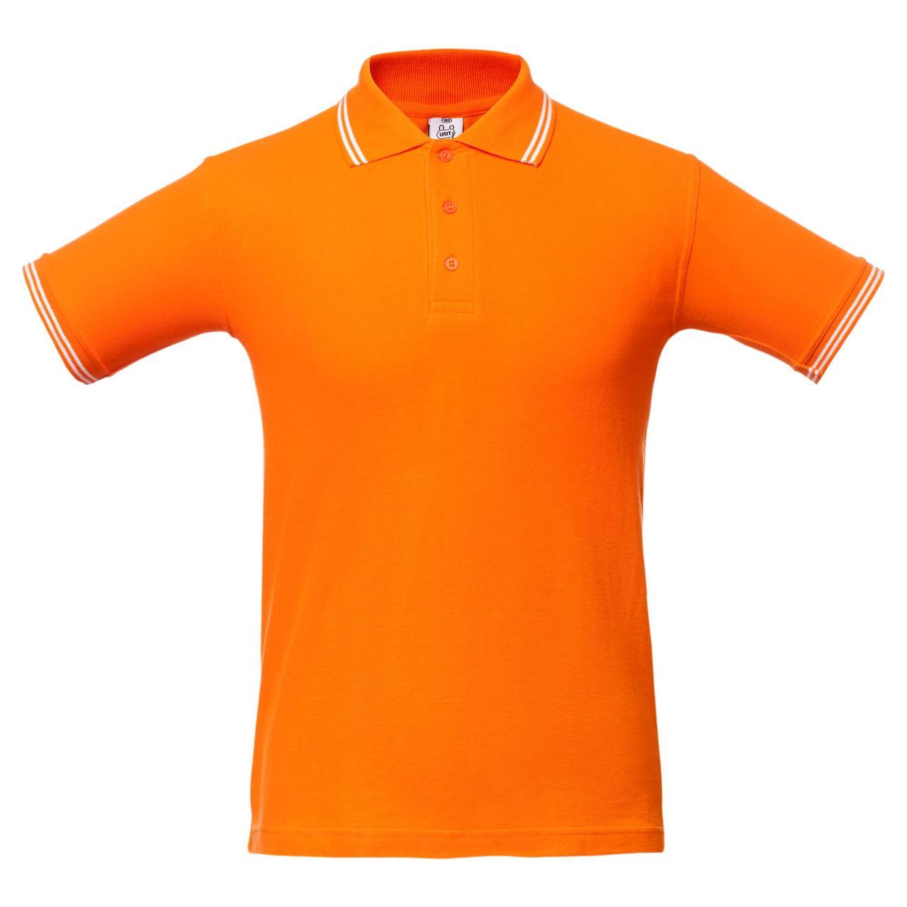Рубашка поло Virma Stripes, оранжевая (артикул 1253.20)