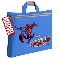 Сумка-папка Amazing Spider-Man, синяя (артикул 44437.44)