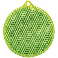 Пешеходный светоотражатель «Круг», зеленый (артикул 4210.90)