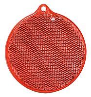 Пешеходный светоотражатель «Круг», красный (артикул 4210.50)