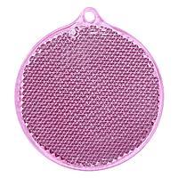 Пешеходный светоотражатель «Круг», розовый (артикул 4210.56)