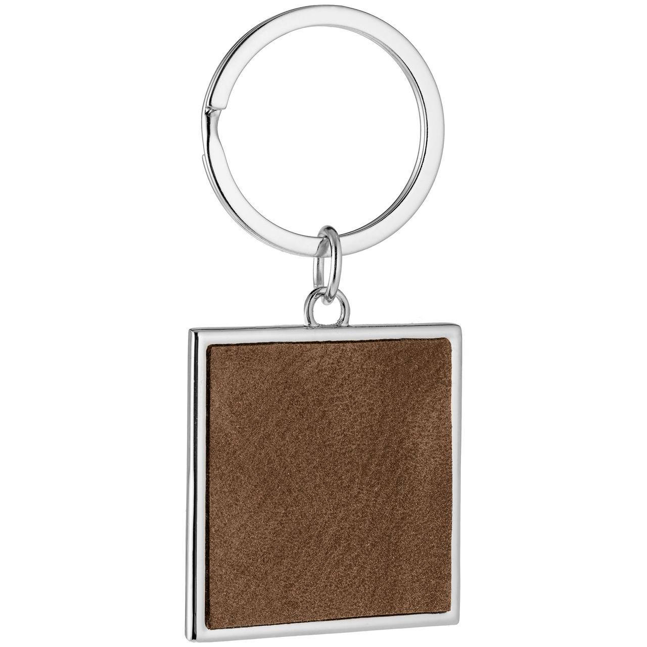 Брелок Brown Square, коричневый (артикул 684.59)
