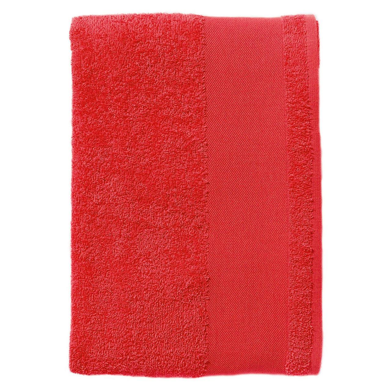 Полотенце махровое Island Medium, красное (артикул 4592.50)