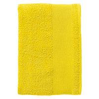 Полотенце махровое Island Medium, лимонно-желтое (артикул 4592.80)