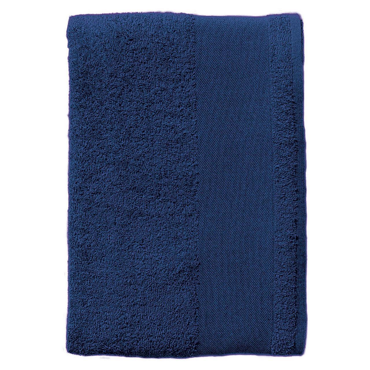 Полотенце махровое Island Medium, темно-синее (артикул 4592.40)