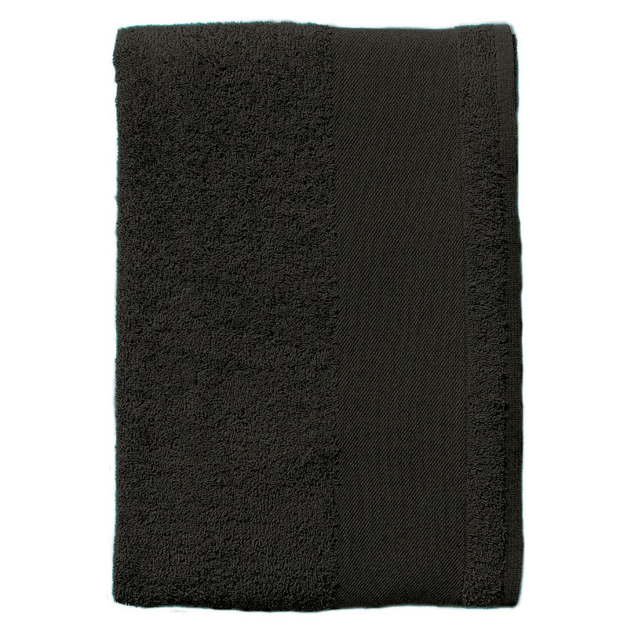 Полотенце махровое Island Medium, черное (артикул 4592.30)