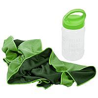 Охлаждающее полотенце Weddell, зеленое (артикул 5965.92), фото 1