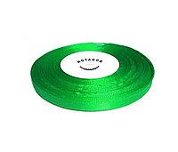 Лента атласная для подшивки документов зеленая, 33 м