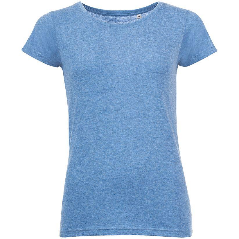 Футболка женская Mixed Women голубой меланж (артикул 01181236)