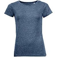 Футболка женская Mixed Women темно-синий меланж (артикул 01181322), фото 1