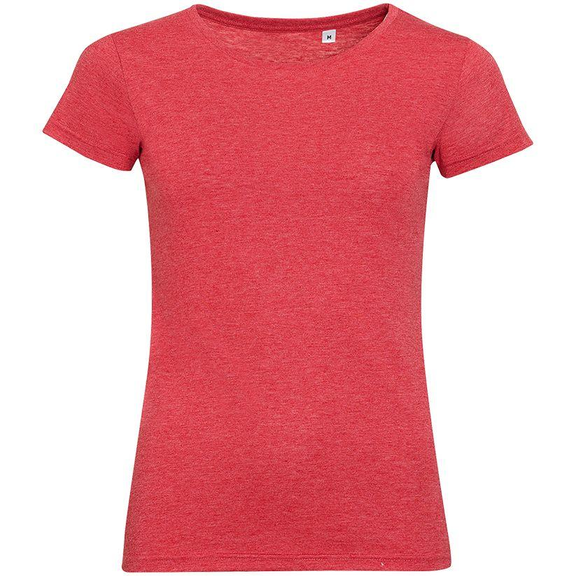 Футболка женская Mixed Women, красный меланж (артикул 01181163)
