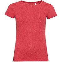 Футболка женская Mixed Women, красный меланж (артикул 01181163), фото 1
