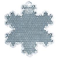 Пешеходный светоотражатель «Снежинка», белый (артикул 4209.60)