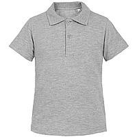 Рубашка поло детская Virma Kids, серый меланж (артикул 11575.11)