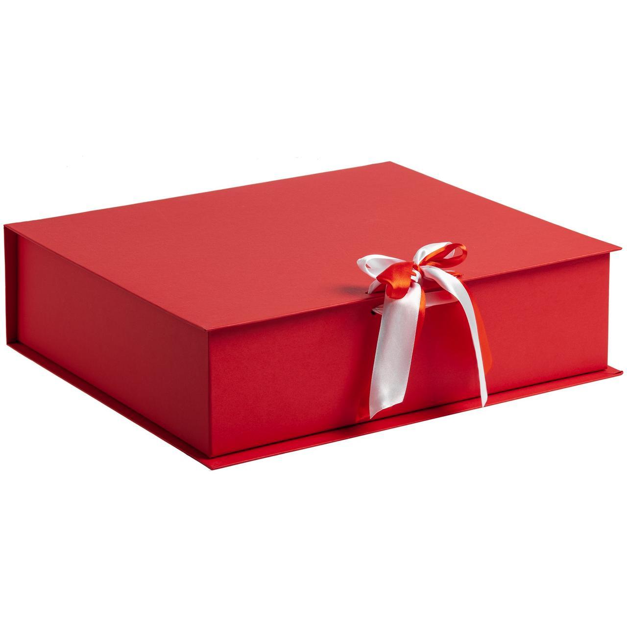 Коробка на лентах Tie Up, красная (артикул 10600.50)