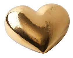Фарфоровое сердце Golden Heart (артикул Z9813)