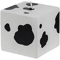 Свеча Spotted Cow, куб (артикул 12204)