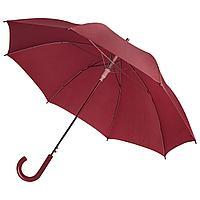 Зонт-трость Unit Promo, бордовый (артикул 1233.55)