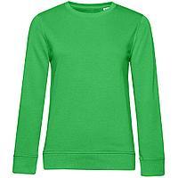 Свитшот женский BNC Organic, зеленый (артикул WW32B515)