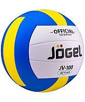 Волейбольный мяч Active, голубой с желтым (артикул 16028.84)