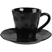 Кофейная пара Dark Fluid, черная (артикул 11054.30)
