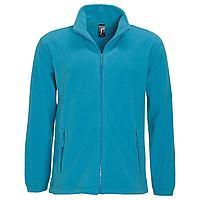 Куртка мужская North 300, ярко-бирюзовая (артикул 55000321)