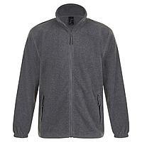 Куртка мужская North, серый меланж (артикул 1909.11)
