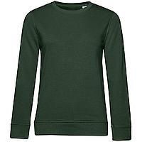 Свитшот женский BNC Organic, темно-зеленый (артикул WW32B882)