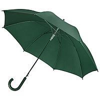 Зонт-трость Unit Promo, темно-зеленый (артикул 1233.93)