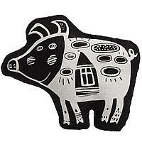 Игрушка «Свинка, витающая в облаках», черная (артикул 10166.30)