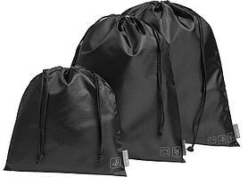 Дорожный набор сумок Stora, черный (артикул 10104.30)