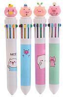Многоцветные ручки с индивидуальным ПВХ навершием (артикул 8201.01)