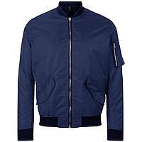 Куртка бомбер унисекс Rebel, темно-синяя (артикул 01616319)