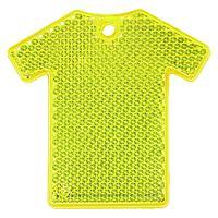 Светоотражатель «Футболка», неон-желтый (артикул 6133.89)