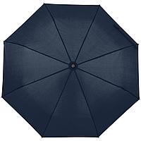 Зонт складной Monsoon, темно-синий (артикул 14518.43)