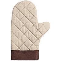 Прихватка-рукавица Keep Palms, бежевая (артикул 11173.11)