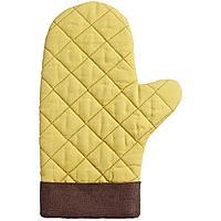 Прихватка-рукавица Keep Palms, горчичная (артикул 11173.80)