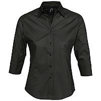 Рубашка женская с рукавом 3/4 Effect 140, черная (артикул 2510.30)