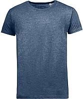 Футболка мужская Mixed Men темно-синий меланж (артикул 01182322)