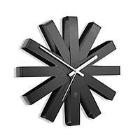 Часы настенные Ribbon, черныe (артикул 7009.30)