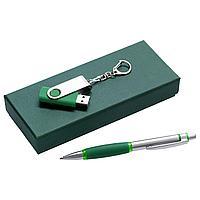 Набор Notes: ручка и флешка 8 Гб, зеленый (артикул 3135.90)