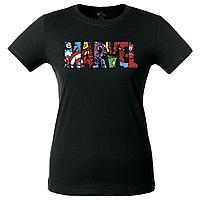 Футболка женская Marvel Avengers, черная (артикул 55575.31)