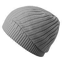 Шапка Stripes, серая (артикул 6735.10)