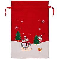 Мешок для подарков Noel, с пингвинами (артикул 12812.01)