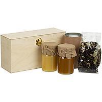 Набор с чаем и медом Right Bees, крафт (артикул 12695.00)