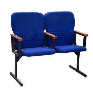 Кресло для актового зала двухсекционные