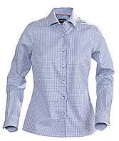 Рубашка женская в клетку Tribeca Ladies, синяя (артикул 6564.44)