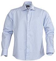 Рубашка мужская в клетку Tribeca, голубая (артикул 6563.14)