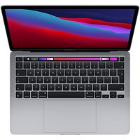 "Apple MacBook Pro 13"" (M1, 2020) 8 ГБ, 256 ГБ SSD, Touch Bar, «серый космос»"