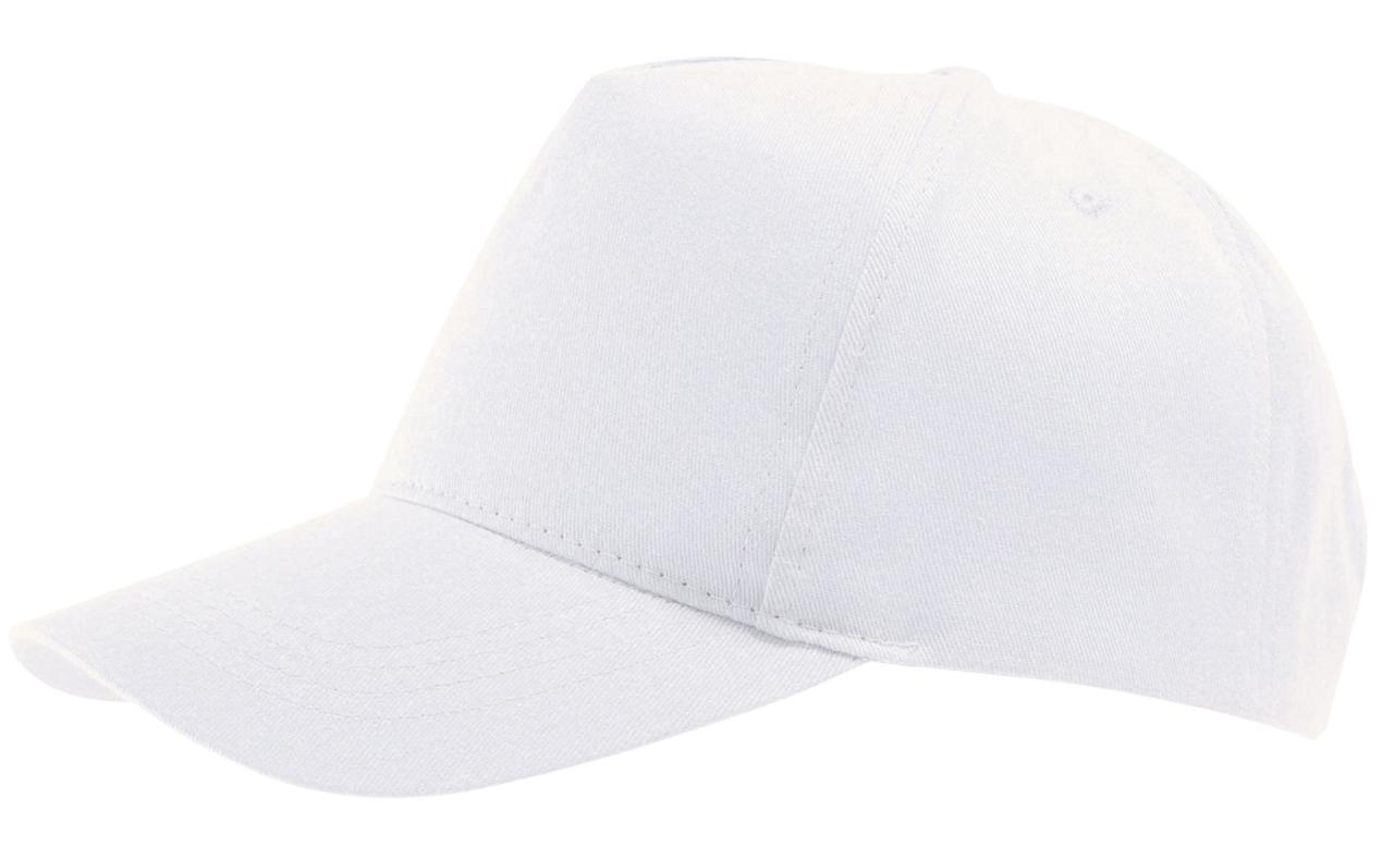 Бейсболка Buzz, белая (артикул 6536.60)